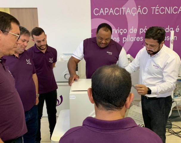 Woson Latam - CURSO DE CAPACITAÇÃO TÉCNICA WOSON - Turma Setembro 2019 .