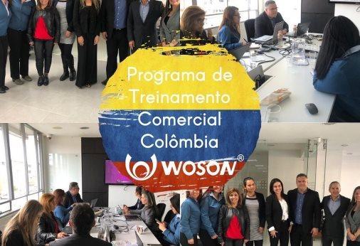 Programa de Treinamento de Produtos e Estratégias Comerciais Colômbia