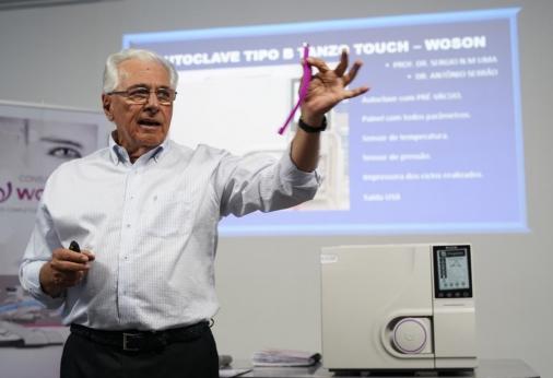 Trabalho Clínico-Científico Realizado Com  Autoclave Classe B Pré-vácuo  Woson, Modelo Tanzo Touch,
