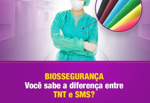 Qual a diferença entre 'TNT' e 'SMS'?