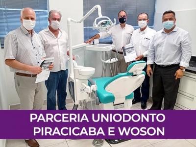 Parceria Uniodonto Piracicaba e Woson