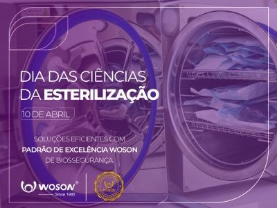 Dia Internacional das Ciências da Esterilização.